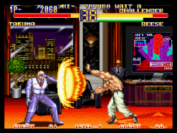 geese howard art of fighting 2