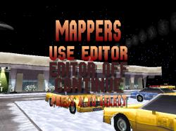 The Mappers menu.