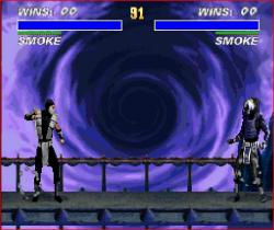 Human Smoke vs. Robot Smoke(SNES version)