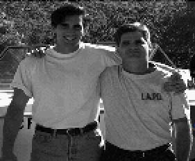 Brandon Massey (left) and Dan Rogers (right) from PQ4 (1993)