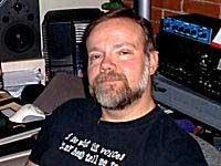 George Ledoux in Cyberlore's sound studio