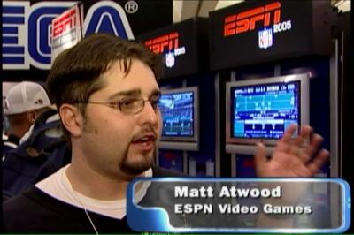 Matt at E3 2004, right before the NFL screwed ESPN games.
