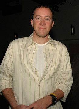 This is a picture of Stefan Sinclair at the Halo2 launch party in Seattle in November, 2004