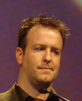 Grant Collier at the Game Developers Awards 2005