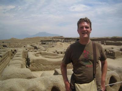 Kelly touring the Incan ruins of Perucirca 2005