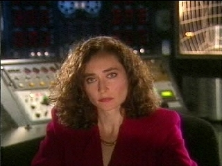 Joy Parry playing Deputy Director Matthews in Silent Steel, circa 1995.