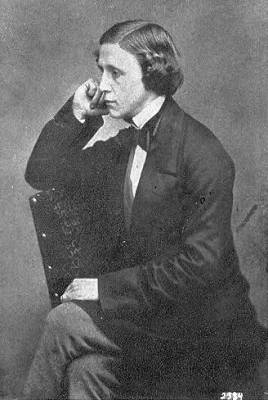 Lewis Carroll self photograph.