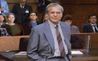 As Tommy Mullaney in L.A. Law: The Computer Game, circa 1992.