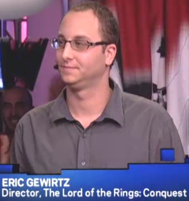 2008 - X-Play E3 interview about The Lord of the Rings: Conquest.