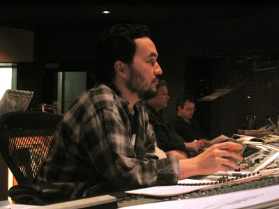 Steve Jablonsky hard at work (2008)