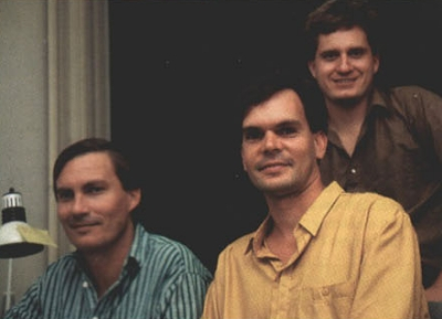 (l/r) Harald Seeley, John Krause and Gary Vick (Cyberdreams 1992)