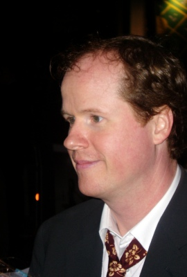 2005 photo of Joss at the Oct 5th Serenity premiere by Jo Anslow