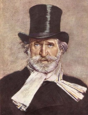 1886 portrait of Verdi by Giovanni Boldini