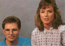 Jim Larsen and Cheri Loyd (feature Codename Iceman in Sierra News Magazine, 1989/2/2)