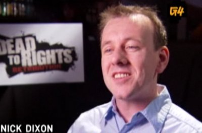 2009 - G4's interview about Dead to Rights: Retribution.