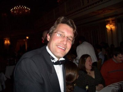 at the EA Chicago Holiday Party (circa 2005)