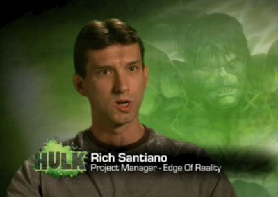Promotional video for The Incredible Hulk (2008).