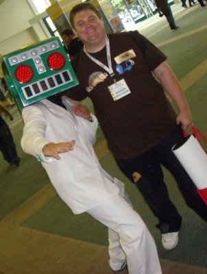 Bumped into Mr. Destructoid at E3 2009!