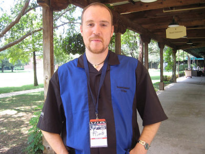 Timothee Besset at QuakeCon 2008.Image taken on August 4, 2008.source