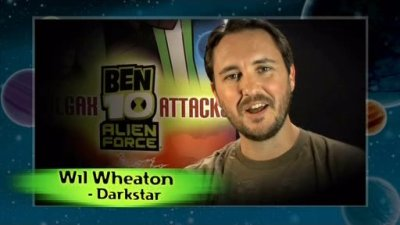 "Taken from PS2 Ben 10 Alien Force: Vilgax Attack's unlockable bonus video ""Meet the Actors""."