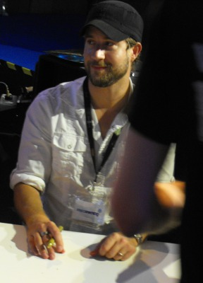 Chris Robinson at GamesCom 2011