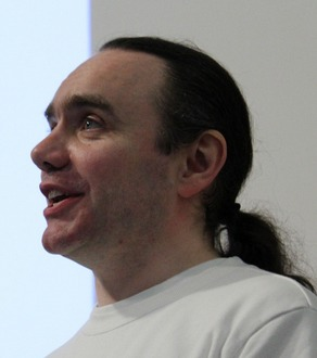 Gary Timmons giving a presentation (14th February 2011)source: Flickr.com