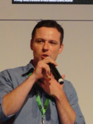 Gamescom 2012, presenting Secret Files 3