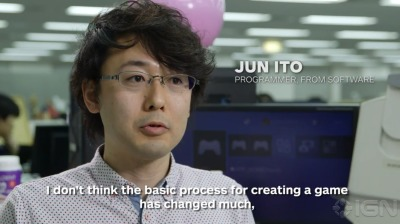 Jun Itō2015source: making of Bloodborne promotional video
