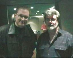 "Marc Silk and some guy called George ""starwars"" Lucas"