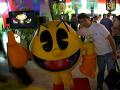 Just before I stabbed pacman in the back
