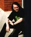 Steve Snake, Taking a well earned break outside the offices of Iguana UK, 1997.