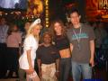 Pic of Gary, booth babes and a fan at E3 2004