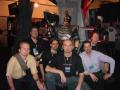 Third from the left is Marek at E3 2004