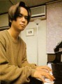 Yuzo Koshiro at his piano