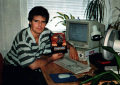 Tadic in swedish magazine Datormagazin (1992), around the same time as the release of Project X on Amiga
