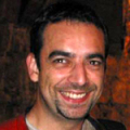 Diego F-B during IGDA meeting in Paris, late 2005