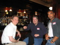 Smart in LA (2003) with Brad Wardell (Stardock) & Brian Gladman (Dreamcatcher). Used with permission from 3000AD, Inc.