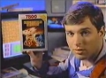 On an Atari 7800 commercial, circa 1987.