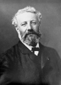 Jules Verne in photo by Félix Nadar.