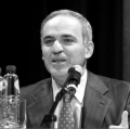 Kasparov, 03/18/2007. (from his Wikipedia article, photo by Elke Wetzig)