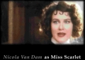 As Miss Scarlet in the game Clue (1994).
