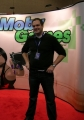 "At America's Video Game Expo 2006 (picture by <a href=""http://www.mobygames.com/user/sheet/userSheetId,5578/"">Servo</a>)."