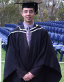 Jake Drobowiecki at his University graduation (2005)