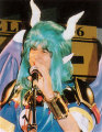 Moo Niitani dressed as Satan-sama from Puyo Puyo Tsuu (1996)