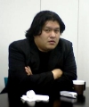 Kenji Eno during an interview (2005)