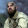 "Gil Doron rendered as Lucasz ""Bang Boom"" Kowalski in Call of Duty 3 (2006)"