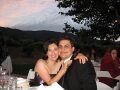With wife Renee at wedding brother Shadi 2006