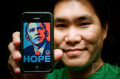 """Hope wins"", Danny Ngan on November 5, 2008"