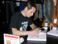 2006 photo of Fairey at a book signing. (Photo by Adam Engelhart)