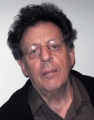 Philip Glass in the WNYC studios December 12, 2007